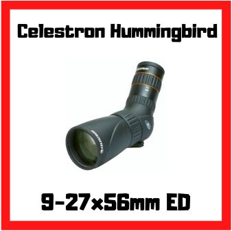 longue vue celestron hummingbird ed 9-27x56mm