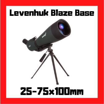 longue vue levenhuk blaze base 100 25-75x100mm