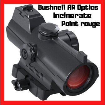 point rouge bushnell ar optics incinerate red dot