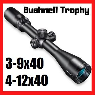 bushnell trophy 4-12x40 3-9x40 lunette de visée chasse tir avis test